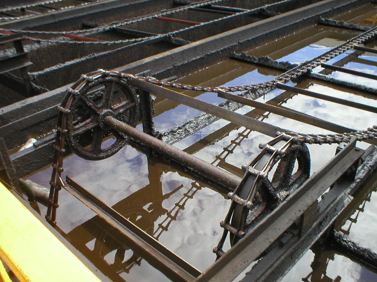 Cobalt Chains clarifier tank cast water treatment chain - Cobalt Chains