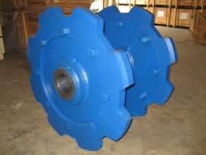 Cobalt Chains stacker reclaimer double engineering chain sprocket