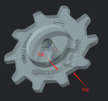 CC600 10 Tooth Sprocket Drawing