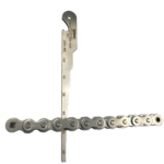 """No-Go"" ANSI Roller Chain Wear Gauge"