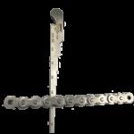 """""""No-Go"""" ANSI Roller Chain Wear Gauge"""
