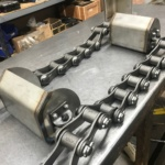Cast 4103 Chain with Stainless Steel Buckets